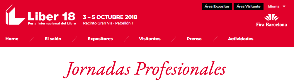 Jornada profesionales_Liber 2018