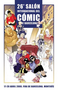 La pasión del cómicVisitamos el 26 Salón Internacional del Cómic de Barcelona