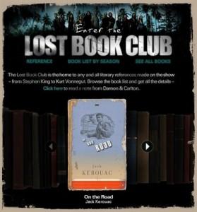 La serie de televisión Lost crea un Club de lectura