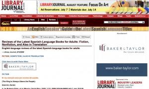 Library Journal seguirá con la tarea de la desaparecida revista Críticas