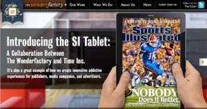 El concepto de revista digital, en tablet