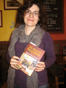 Entrega de libros en Barcelona