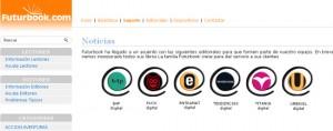 Futurbook, distribución de libros digitales en sistema prepago
