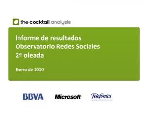 Los internautas españoles y las redes sociales
