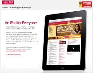 Un iPad para cada estudiante