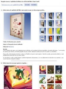 ¡Feliz Sant Jordi/Día del Libro a todos!