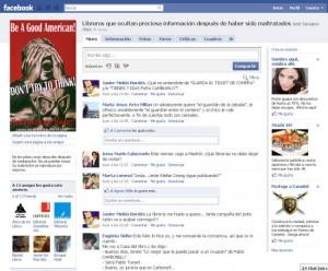 Libreros que abren una página en Facebook y nos ilustran a carcajadas