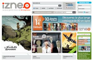 Izneo, una nueva plataforma francesa de cómics digitales
