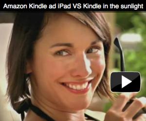 Kindle versus iPad, de tú a tú en un anuncio