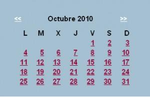 Agenda editorial de octubre – semana 3