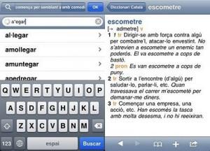 Los diccionarios de la Enciclopedia Catalana están disponibles en el móvil