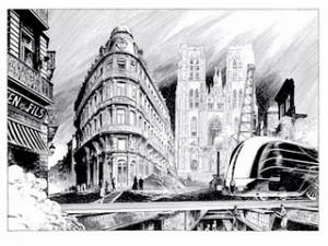 El dibujante de cómics François Schuiten crea su primera obra en papel electrónico