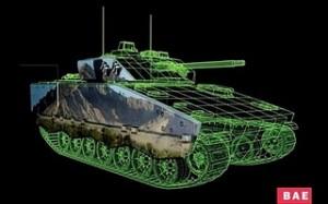 La tinta electrónica a color llega a los tanques de guerra