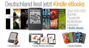 Amazon estrena tienda de libros Kindle en Alemania
