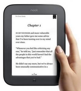Barnes & Noble lanza una nueva versión del lector Nook, con pantalla táctil