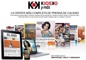 Se presenta Kiosko y Más, plataforma digital de pago de diarios y revistas