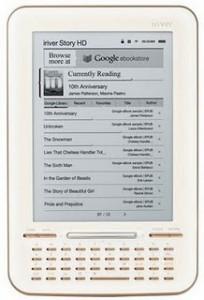 iRiver lanza un lector de libros electrónicos con pantalla HD y acceso a la librería Google eBookstore