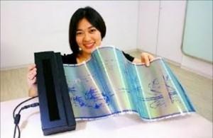 Se presenta en Taiwán un papel electrónico reutilizable