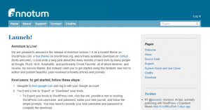 Google Knol migra hacia la plataforma Annotum de WordPress