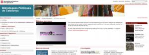 La Biblioteca Electrónica del Sistema de Lectura Pública de Cataluña, accesible desde cualquier ordenador