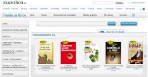 El Mundo y La Esfera de los Libros entran en el sector de los libros digitales