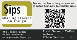 Compartiendo narraciones cortas en las cafeterías mediante códigos QR