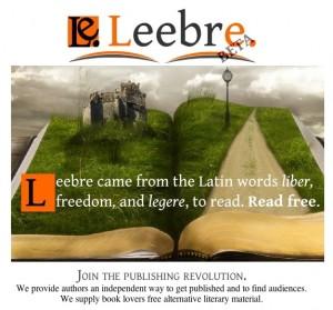 Leebre, una interesante opción para los escritores independientes y la autoedición