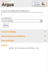 El catálogo de 142 bibliotecas públicas de Cataluña ya es accesible desde el móvil