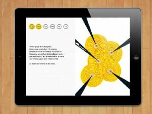 Unlimited Sobrassada, poesía ilustrada, interactiva, audiovisual y multimedia en iPad