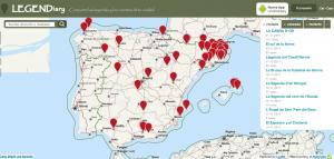 LEGENDiary, una aplicación para Android de leyendas y cuentos con base geográfica