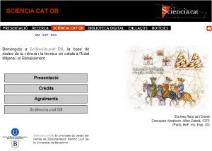 Se abre la consulta pública Sciència.cat DB, base de datos de documentos antiguos en lengua catalana sobre ciencia
