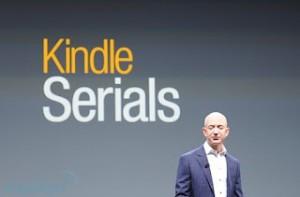 Amazon lanza Kindle Serials, un servicio de suscripción de novelas por entregas
