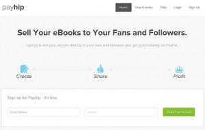 Payhip, para vender tus libros digitales en línea mediante Paypal