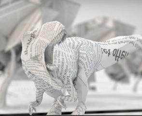Papel Age, vídeo 3D sobre la muerte de la prensa en papel
