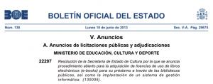 El Gobierno español compra los derechos de casi 1.400 ebooks para su préstamo en bibliotecas, ¡no 200.000 ebooks!