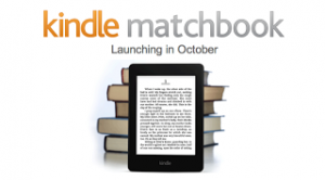 Nace Matchbook, un servicio que permite adquirir a bajo precio la versión digital de libros en papel comprados a través de Amazon