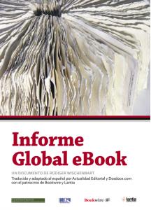 El informe Global eBook, traducido al español
