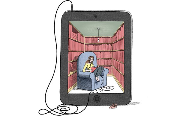 A summer of ereading, por Michael Kirkham. The Telegraph
